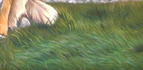 Dessin et peinture - vidéo 1850 : Comment peindre l'herbe aux pastels secs ?