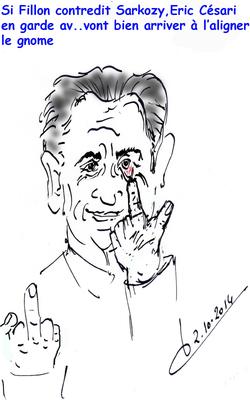 Sarkozy/Bygmalion/Eric Cesari/François Fillion