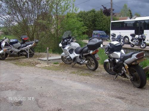 Motos à La Chaumes