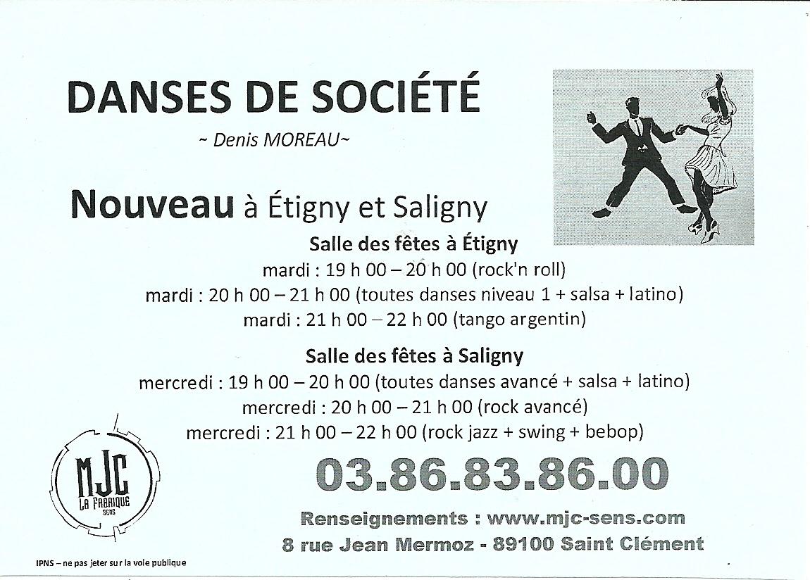 Danses de société