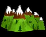 Le conte - Les lieux du conte - La montagne