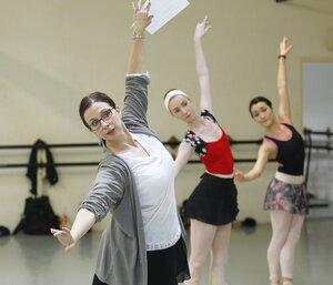 dance ballet class sandra jenning choreographer