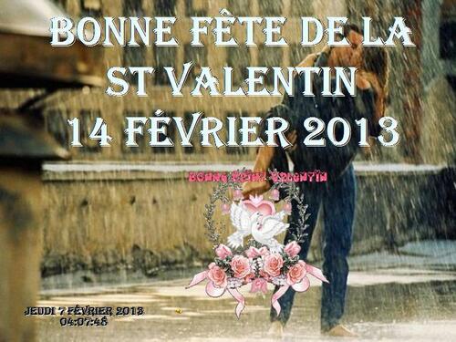 PPS MES CREATIONS la st valentin 2013