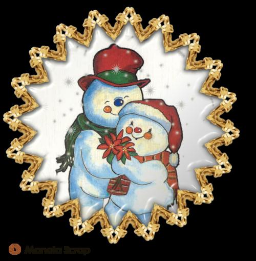Médaillons de Noël 1