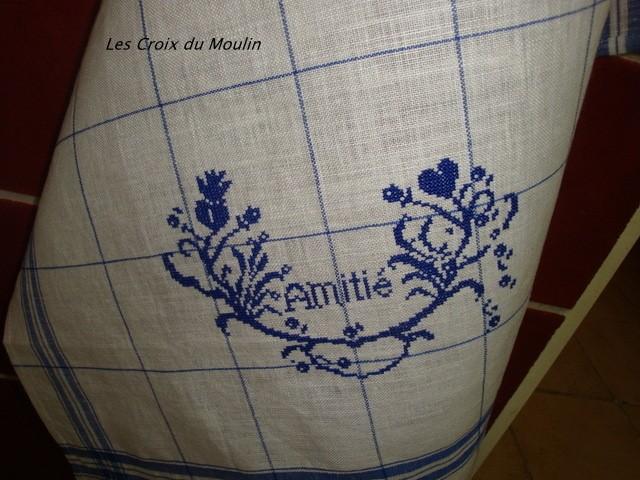 Ce motif est trés beau sur un torchon. Qu' en pensez vous ?
