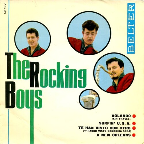 The Rocking Boys - Surfin U.S
