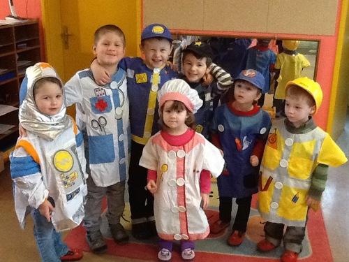 Nos déguisements à l'école!