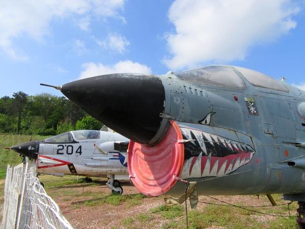 Le musée de l'aviation à Savigny les Beaune, avec la FNATH....