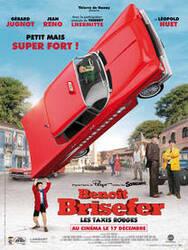 Affiche Benoît Brisefer - les Taxis Rouges