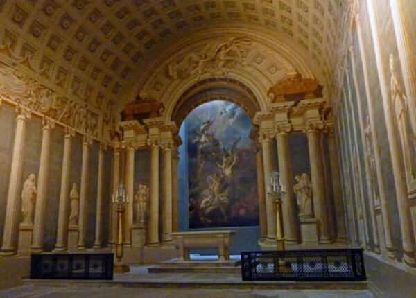64 - Chapelle des âmes du Purgatoire en trompe-l'oeil