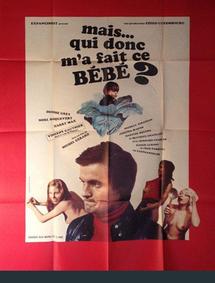 MAIS QUI DONC M'A FAIT CE BEBE? BOX OFFICE FRANCE 1971
