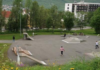 """On veut un skatepark !"""