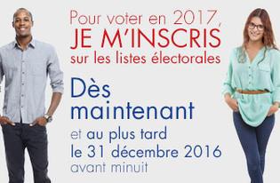 En 2017 Oui je vote !