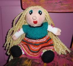 poupée blonde