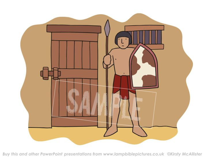 Joseph in prison | Lamp Bible Pictures