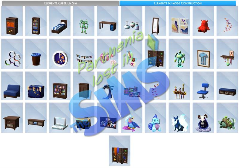 Kit d'objets : Chambre d'enfants