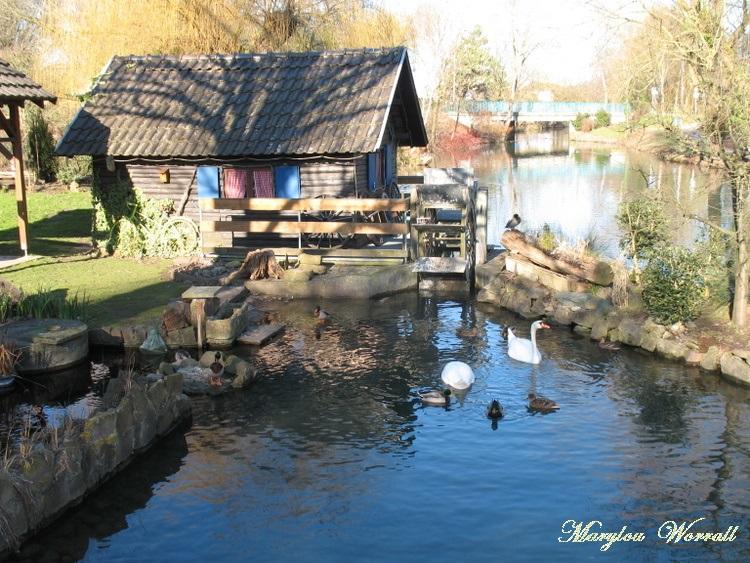 Biesheim (68) : Au bord du Giessen