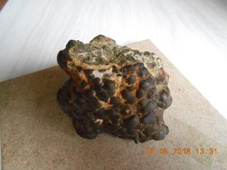 Une météorite reçu en cadeau !