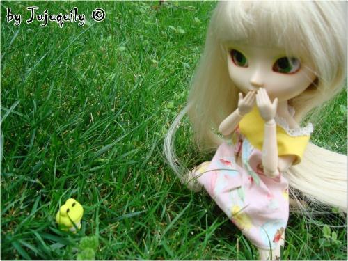 Jade dans le jardin ♥