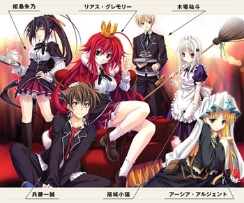 high-school-dxd-personnages