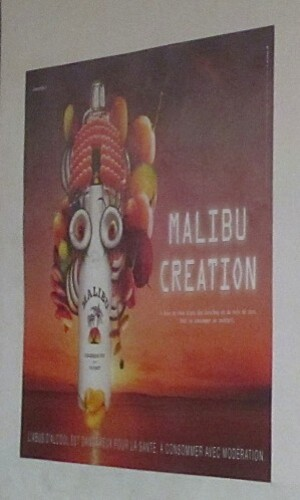 Caribbean creation Malibu affiche 7