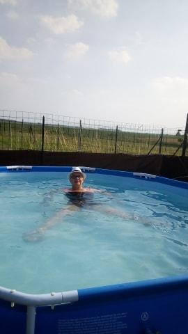 *trop bien cette apres midi dans la piscine