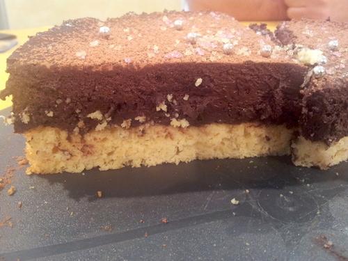 ° Bavarois mousseux amande / chocolat IG bas
