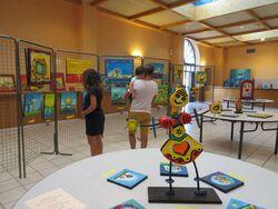 Belmont de la Loire : l'exposition a démarré...