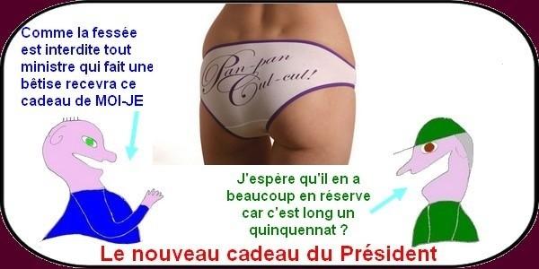 le cadeau du président