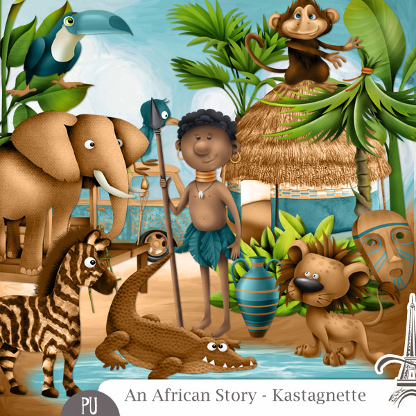 An African Story by Kastagnette