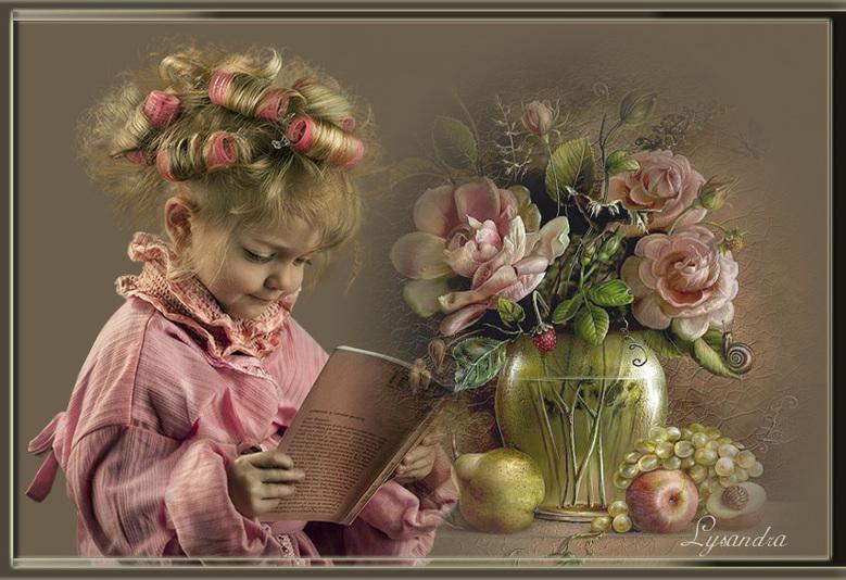 Mayva la petite fille qui aime lire