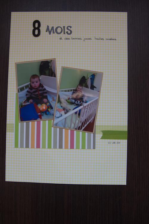 Mylène : Album Lucas - quelques pages A4 (3)