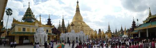 14 janvier Rangoon