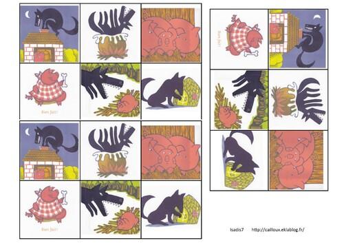 Images séquentielles 4,5 et 6