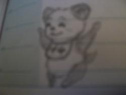 Je dessine trop... dans mon agenda