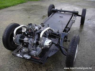 chassis chassis 2cv