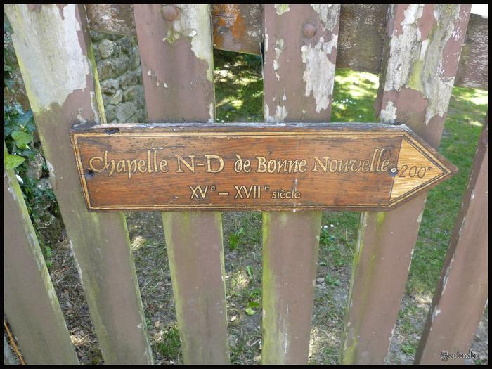 Locronan : La chapelle N-D de Bonne Nouvelle