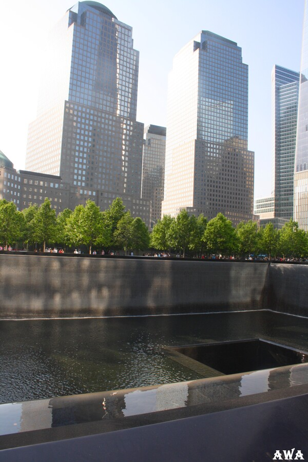 New York en mai 2016 : World  Trade  Center.