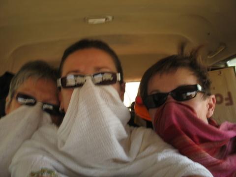 en route vers Mékellé