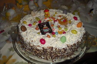 Blog de melimelodesptitsblanpain :Méli Mélo des p'tits Blanpain!, Gâteau de Pâques