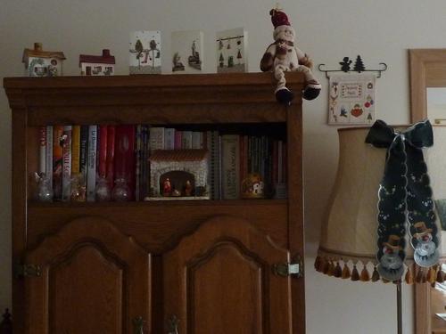 Mes décorations de Noël.