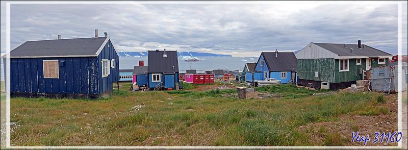 Panoramas sur Qaanaaq (NewThule) et Le Fjord Inglefield - Groenland