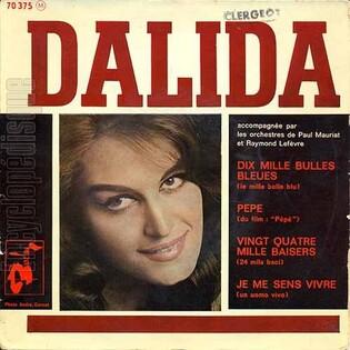 Dalida, 1961