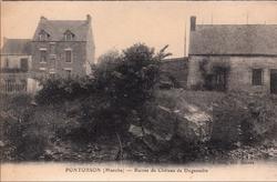 LES REMPARTS DE PONTORSON (Manche)