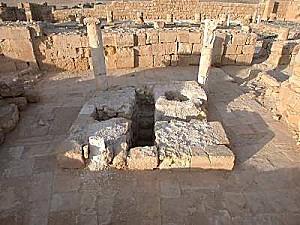 Mampsis, baptistere de l eglise est tb n121701