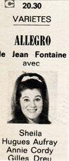 09 janvier 1969 / ALLEGRO
