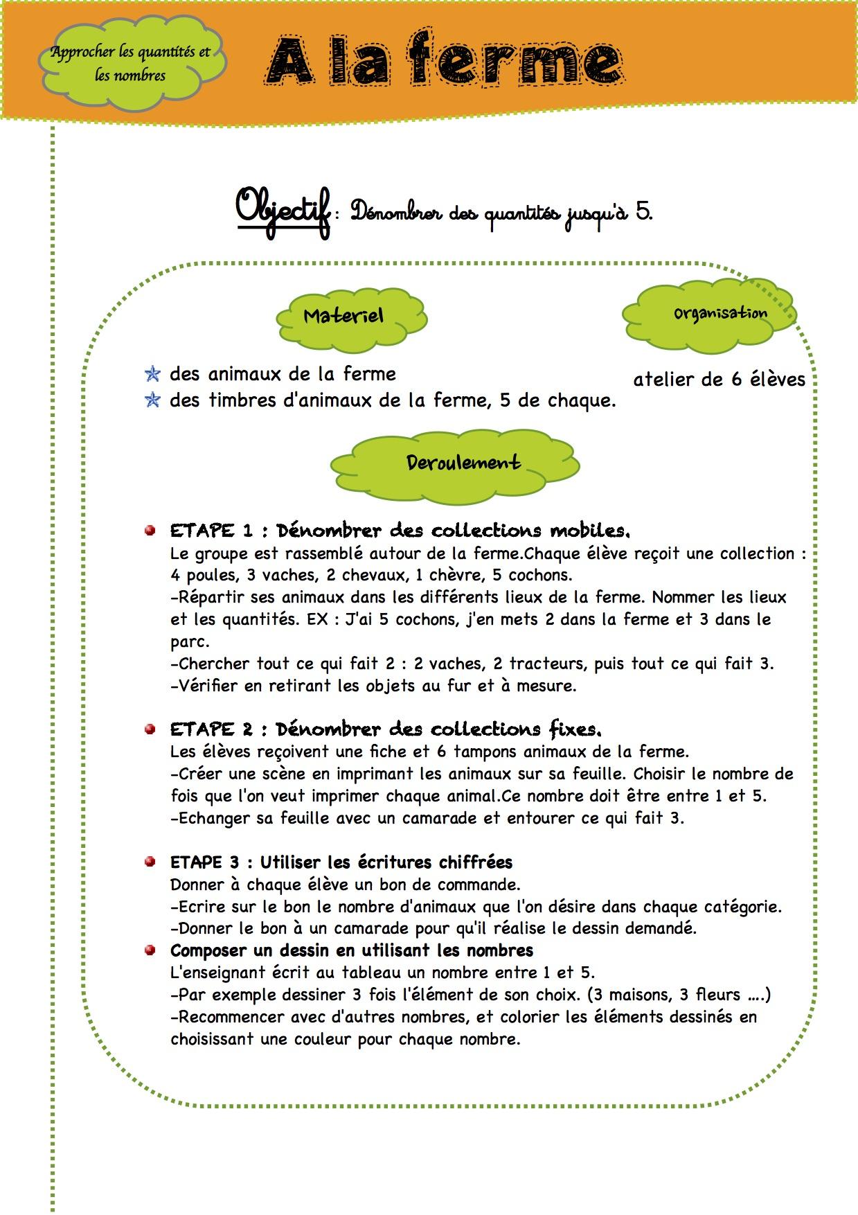 Bekannt Fiche de prèp MATH GS - La classe de Luccia ! QT44