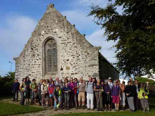 Taulé Chapelle St Herbot le Phare de la Lande