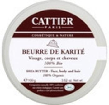 beurre de karité cattier