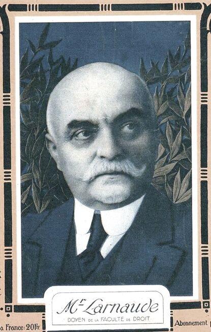 Ferdinand Larnaude, Doyen de la faculté de Droit de Paris de 1913 à 1922